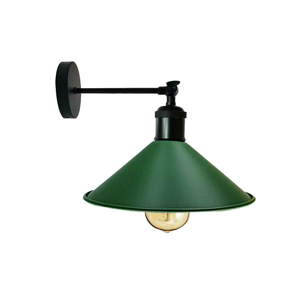 Industrial Wall Lamp Retro Light Green Colour Vintage Wall Sconce Lights