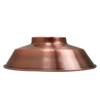 VINTAGE STYLE METAL CEILING LIGHT COPPER SHADES