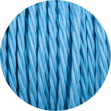 Light Blue 3- Core Twisted Cable