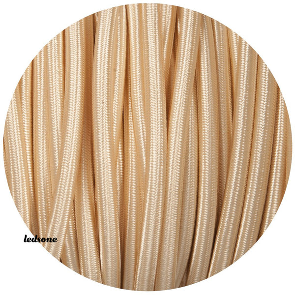 Vintage Fabric Round Cable 1