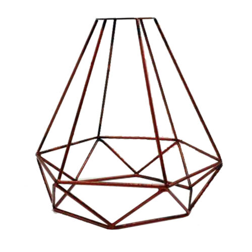 Metal Easy fit Rustic Red wire cage