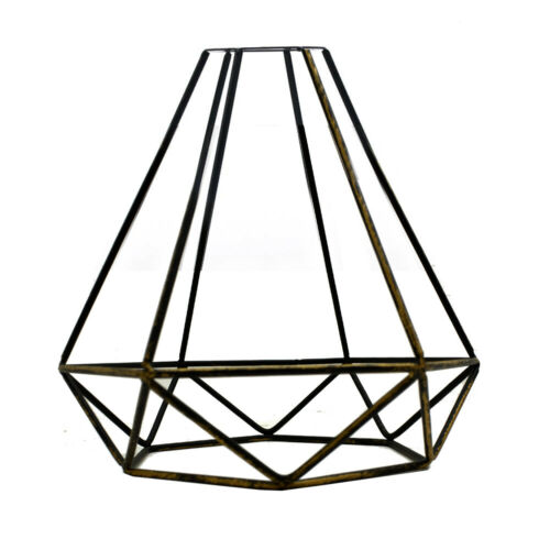 Metal Easy fit Vintage Brass wire cage