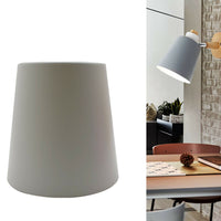 Modern Ash Colour Metal Easy Fit Lampshade