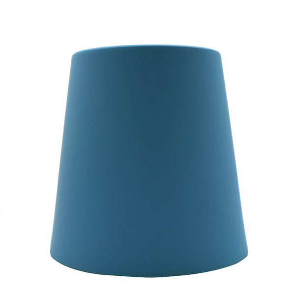 Modern Blue Colour Metal Easy Fit Lampshade