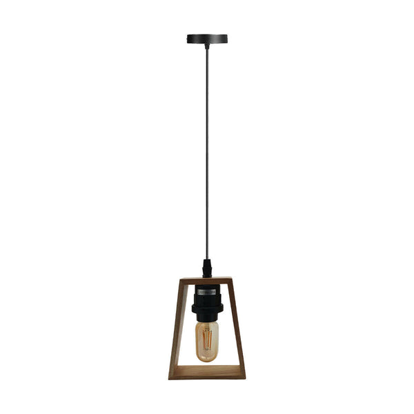 Modern Ceiling Pendant Light Fitting Wood Style Pendant Light Kit