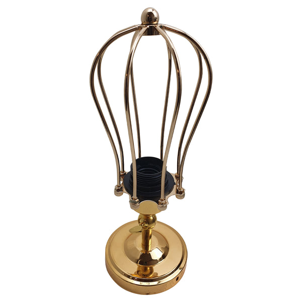 Modern Industrial French Gold Flex Arm Retro Light Cage Ceiling Fixtures E27