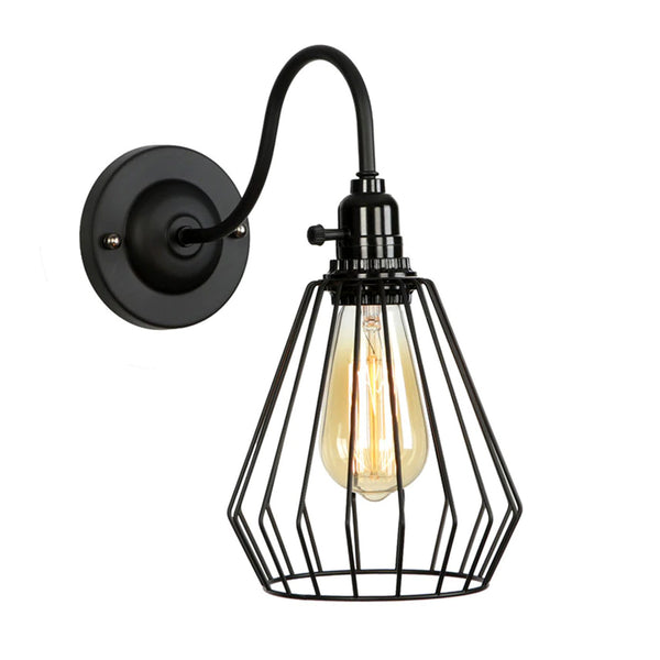 Modern Retro Vintage Industrial Wall Mounted Light Rustic Sconce Lamp Fixture UK