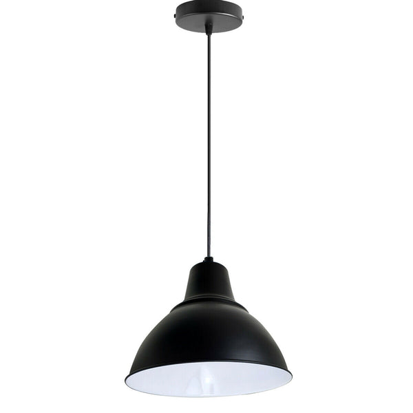 Modern Vintage Style Ceiling Black colour Pendant Lamp