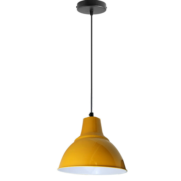 Modern Vintage Style Ceiling Yellow colour Pendant Lamp
