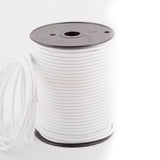 2 core Round Vintage Braided Fabric White Coloured Cable Flex 0.75mm - Shop for LED lights - Transformers - Lampshades - Holders | LEDSone UK