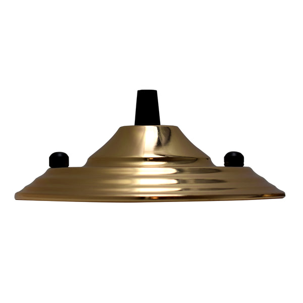 Pendant Cable Grip Flex Plate For Light Fitting 140mm Choose French Gold Color Ceiling Rose