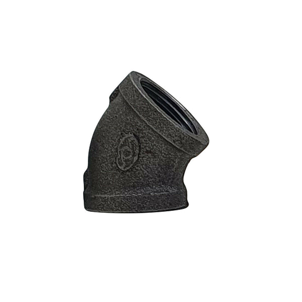 iron 45 Elbow Black Malleable Iron Pipe Fittings