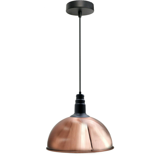Rose gold light shades ceiling Vintage Pendant Light Shade