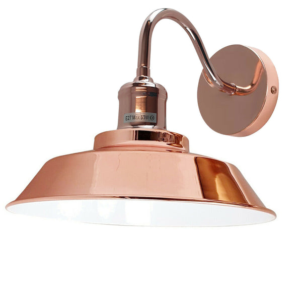 Rose Gold Wall Mounted Light Wall Sconces Lamp Fixture Light