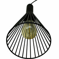 Rustic 3 Lights Industrial Pendant Light E27 Hanging Light Fixture