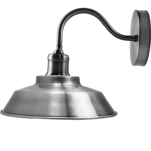Satin Nickel Wall Sconces Lamp Fixture Light Wall Mounted Light
