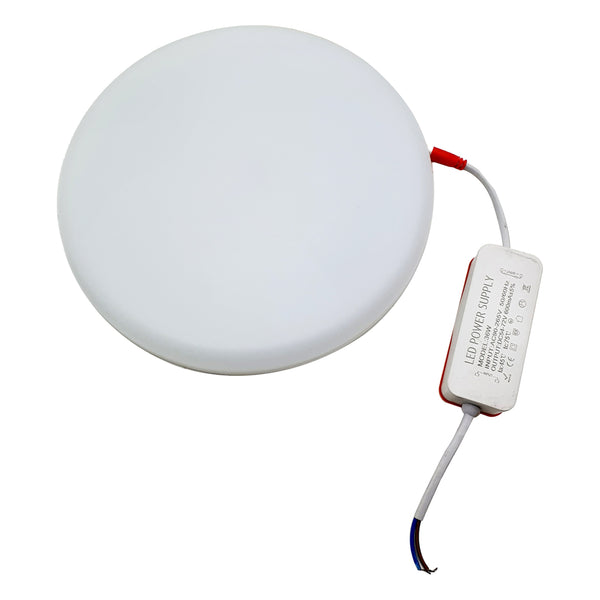 Slim LED 36 W 6000 K Panel Recessed Round Frame less Ceiling Spot Light Cool SMD