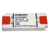 20W Ultra Thin LED Driver AC 230V to DC12V Power Supply Transformer - Shop for LED lights - Transformers - Lampshades - Holders | LEDSone UK