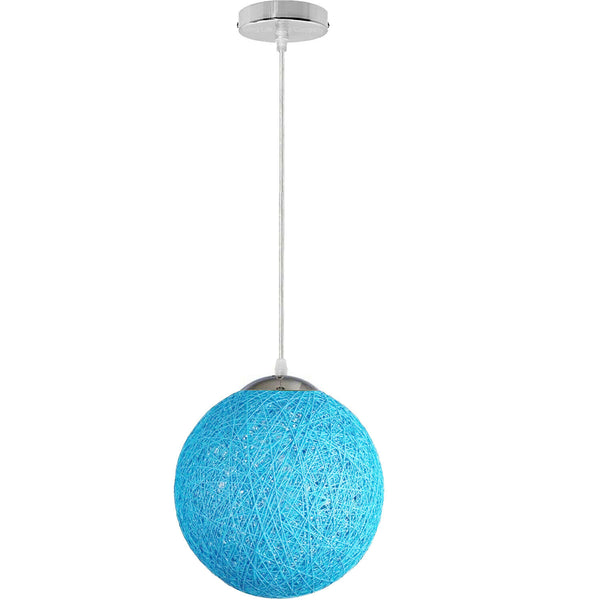 Blue Celling Pendant Light Shade Kitchen Bar Chandelier Hanging Lamp Ceiling Lights