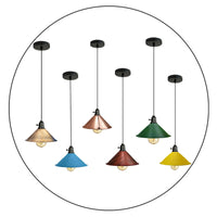 Vintage Industrial Metal Ceiling Pendant Shade Modern Hanging Retro Lights