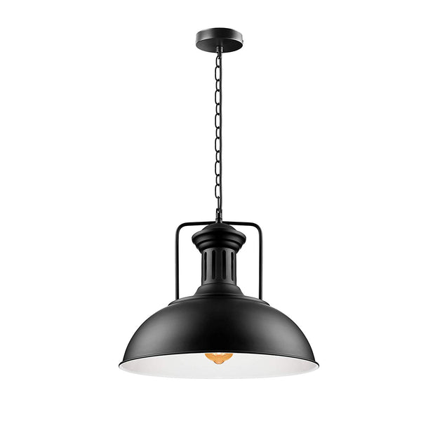 Vintage Industrial Metal Ceiling Pendant Shade Modern Hang Retro Pendant Light