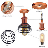 Vintage Pendant Shade Modern Ceiling Retro Lighting Industrial Metal Ceiling