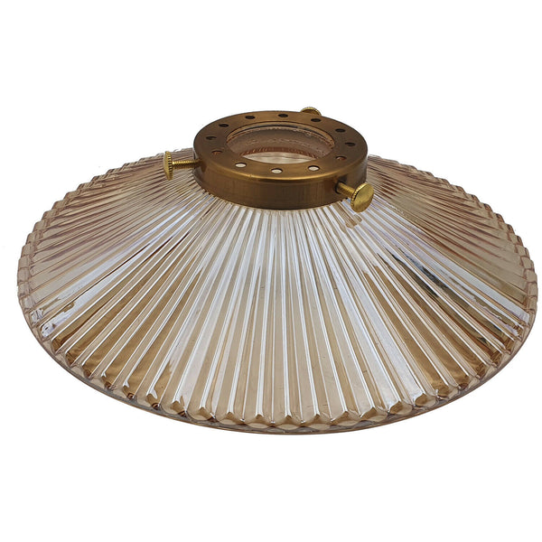 Vintage Retro Style Lampshades Amber Glass Ceiling Pendant Light