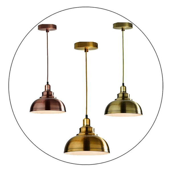 Vintage Industrial Modern Ceiling Pendant Light Loft Ceiling Lampshade UK NEW Style