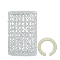 Easy Fit Pendant Light Pattern Metal Drum Lampshade