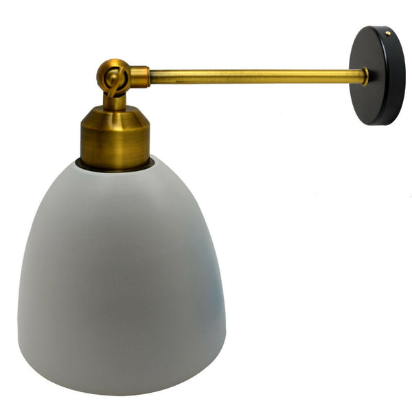 Modern grey colour creative personality Metal Lamp Lighting