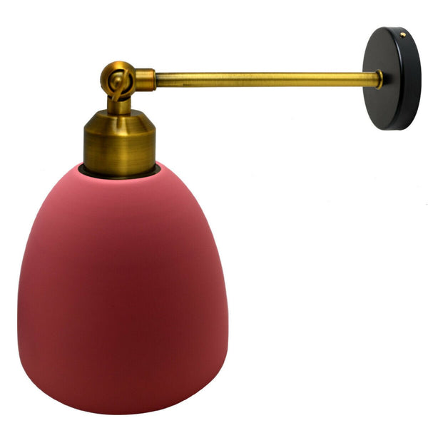 Modern pink colour  creative personality Metal Wall  Lamp Lighting