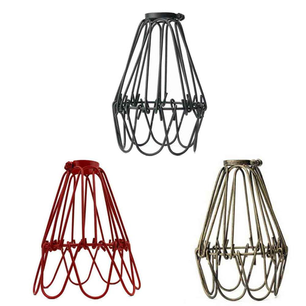 Water lily lamp wire cage