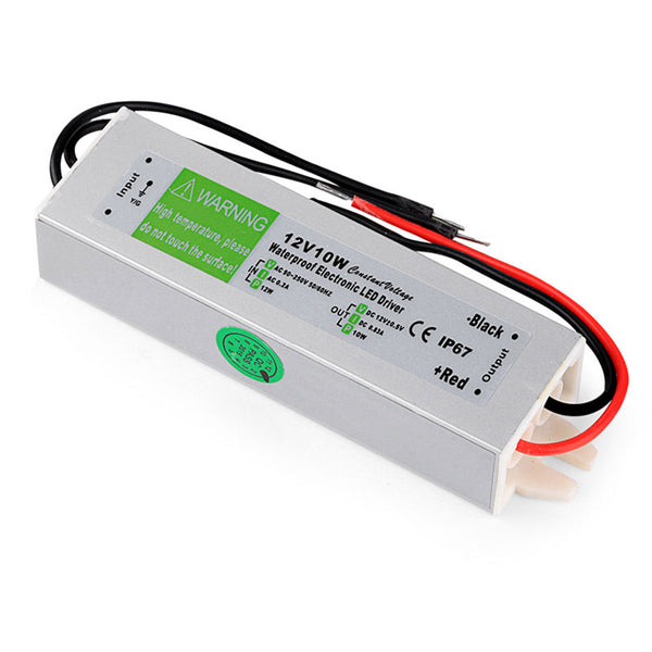 DC12V IP67 10W WaterproofLED Driver Power Supply Transformer