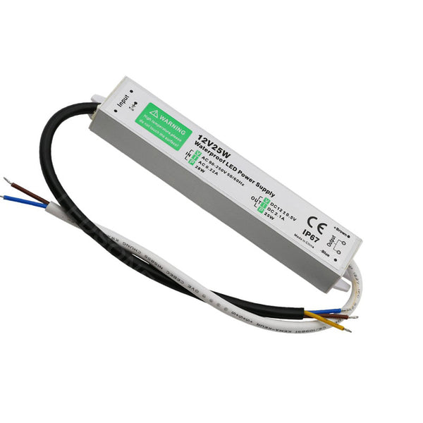 DC12V IP67 25W Waterproof  LED Driver Power Supply Transformer