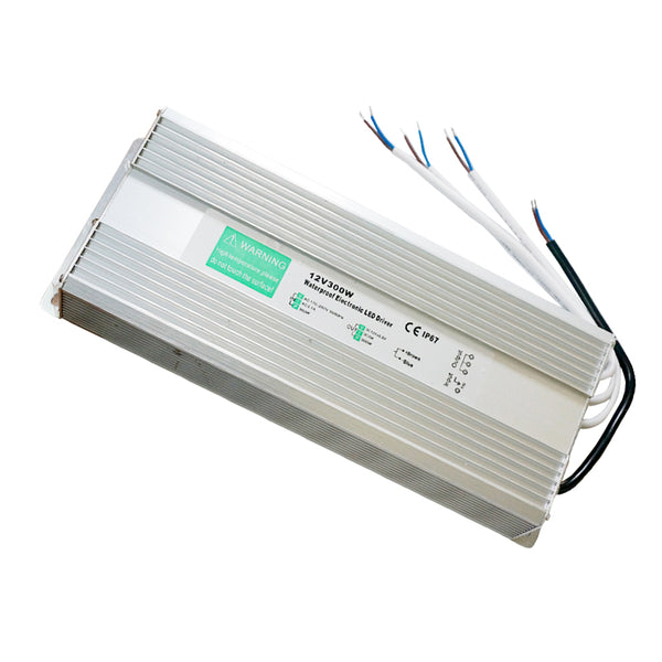 DC12V IP67 300W Waterproof  LED Driver Power Supply Transformer