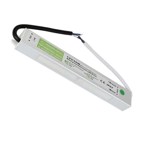 DC12V IP67 36W Waterproof  LED Driver Power Supply Transformer