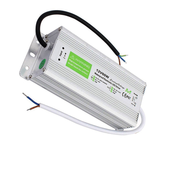 DC12V IP67 5A 60WWaterproof  LED Driver Power Supply Transformer