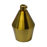 Cone Yellow Brass (3)