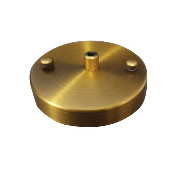 Front Fitting Single Point Yellow Brass Color Outlet Ceiling