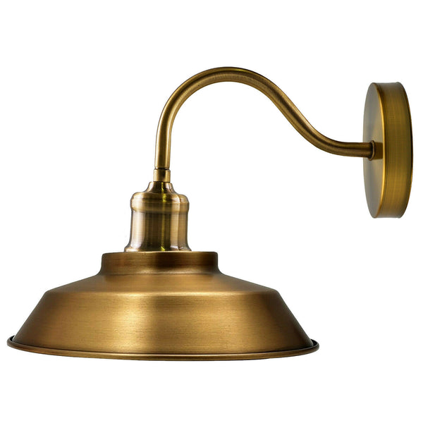 Yellow Brass Indoor Wall Lights And Wall Lamp Fixture Light
