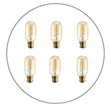6 Pack B22 T45 60W Dimmable Filament  Incandescent Vintage Light Bulb - Shop for LED lights - Transformers - Lampshades - Holders | LEDSone UK
