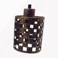 Retro Lampshade Easy Fit Modern Light Lamp Shade Vintage Style Ceiling Metal Cage