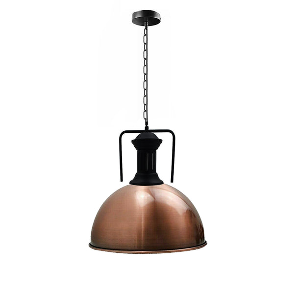 Modern Fashion Industrial Metal Shade Loft Cafe Pendant Light FREE bulb Ceiling Lamp New