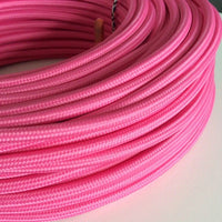 2 Core Pink Round Cable