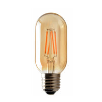 4W T45  E27 LED Dimmable Vintage Teardrop Spiral Filament Light Bulb - Shop for LED lights - Transformers - Lampshades - Holders | LEDSone UK