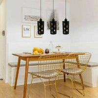 Modern Retro Style 3 Way Pendant Hanging Pattern Light Shade Lampshades