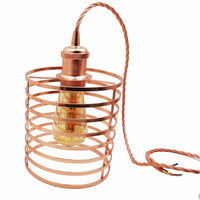 Pendant light Modern chandelier style ceiling lampshade metal rose gold