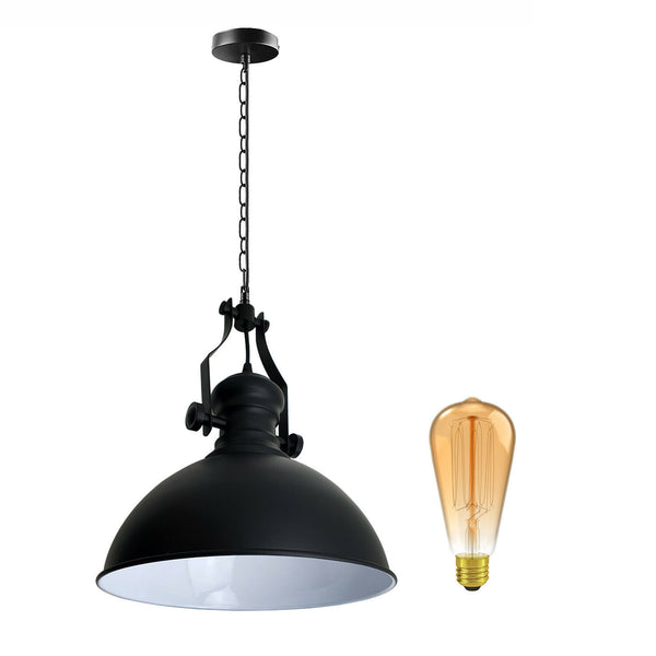 Modern Industrial Vintage Style ceiling light pendant set chandelier metal lampshade hanging loft fitting lampshade fixture
