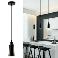 2 Pack Modern Ceramic Ceiling Pendant Light with FREE Bulbs Lampshade Vintage Hanging Light for Kitchen - Shop for LED lights - Transformers - Lampshades - Holders | LEDSone UK