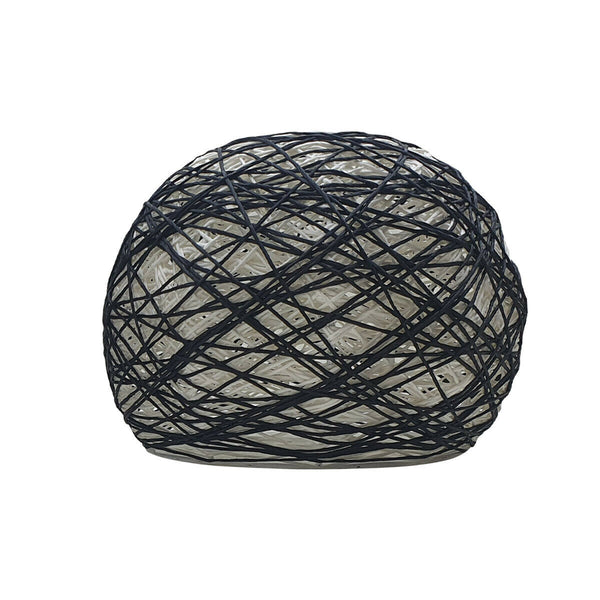 Woven Pendant Lamp Simple Pendant Light Suspension Lamp Cage